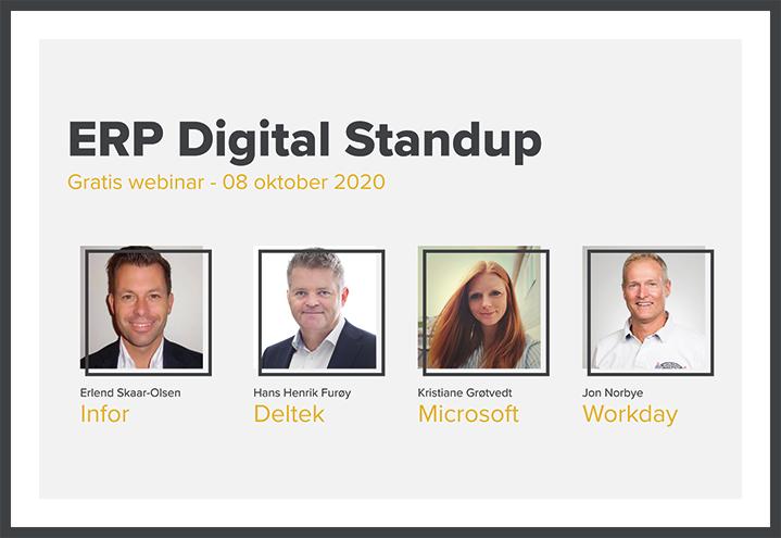 ERP Digital Standup – Høst 2020