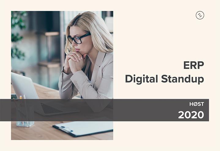 ERP Digital Standup – Nok et vellykket webinar