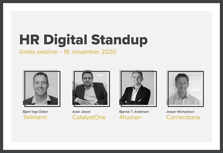 HR Digital Standup – Høst 2020