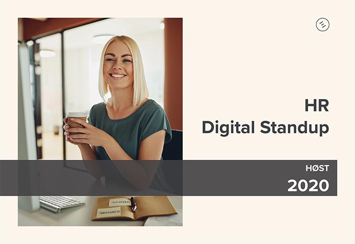 HR Digital Standup – Fremtidens ansattreise