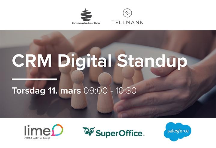 CRM Digital Standup – Vår 2021